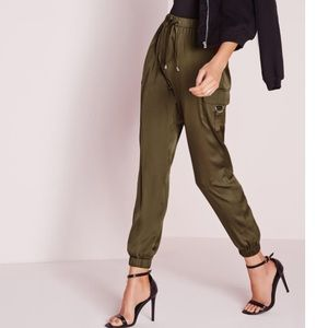 Pants - Misguided cargo joggers